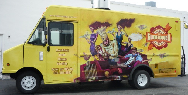 Shorty's Sunflower Food Truck